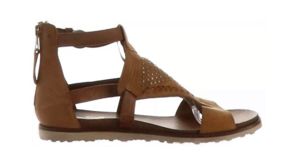 Miz Mooz Tessa Sandals in Wheat Brown Leather $199, Our Beautiful Price $129