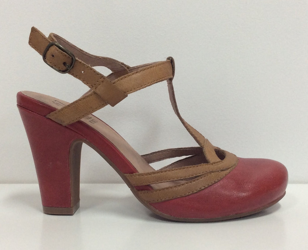 Miz Mooz Josette Red Leather $179, Our Beautiful Price $99