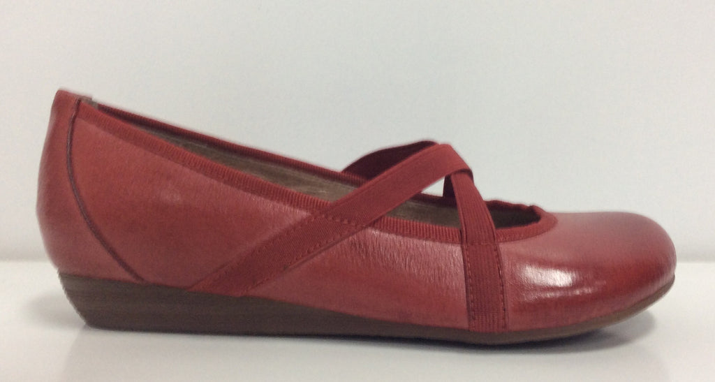Miz Mooz Deb Lobster Red Leather $109, Our Beautiful Price $79