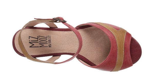Miz Mooz Yvonna Red Leather $179, Our Beautiful Price $89