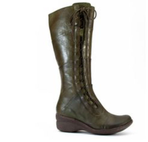 Miz Mooz October in Olive Color Leather $209, Our Beautiful Price $159
