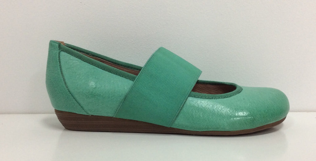 Miz Mooz Delfina in Green Leather $119, Our Beautiful Price $89