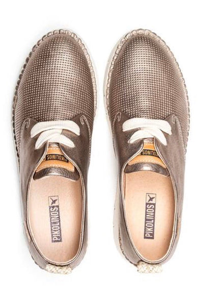 Pikolinos Vera W4L-6780CL Lace-Up Walking Shoe, Leather, Stone Color $199, Our Beautiful Price $169