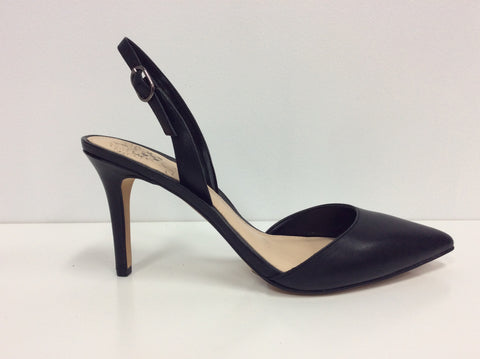 Vince Camuto Barlowe Black Leather $149, Our Beautiful Price $99
