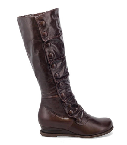 Miz Mooz Bobbie Boots in Mocha Brown Leather, Our Beautiful Price $289