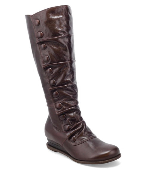 Miz Mooz Bobbie Boots in Mocha Brown Leather $269, Our Beautiful Price $239