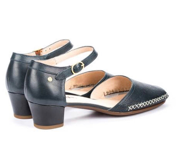 Pikolinos Gomera Sandals W6R-5911 in Ocean Navy Blue Leather $199, Our Beautiful Price $169