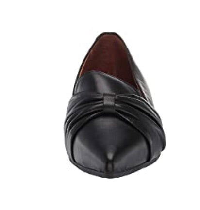 Miz Mooz Jadie Pointy Flats in Black Leather $169, Our Beautiful Price $129
