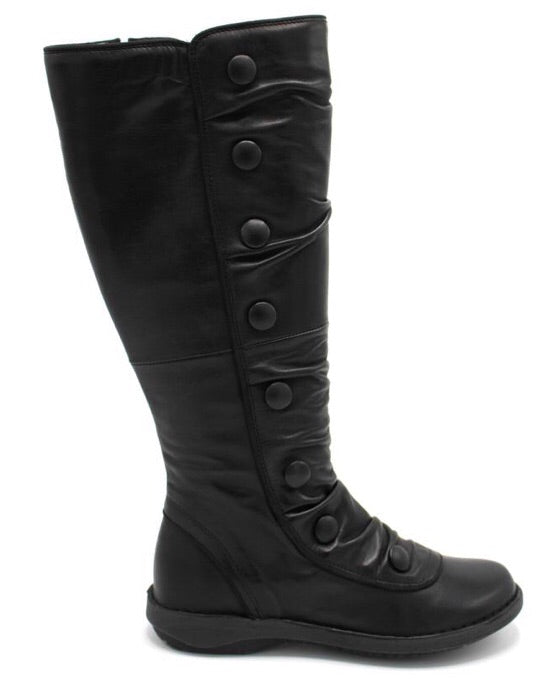 Miz Mooz Palo Boots in Black Leather $289, Our Beautiful Price $229