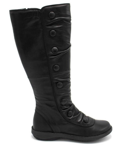 Miz Mooz Palo Boots in Black Leather, Our Beautiful Price $289