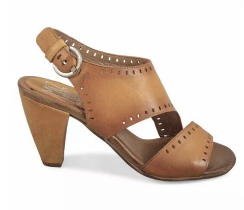 Miz Mooz Pasco Sandals in Camel Tan Leather $209, Our Beautiful Price $169