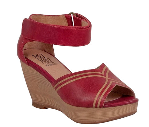 Miz Mooz Yasmina Red Leather $179, Our Beautiful Price $89