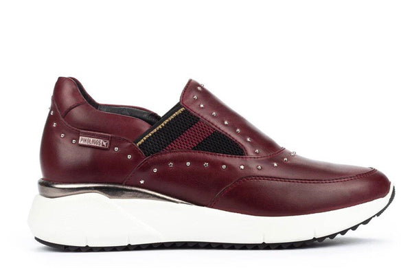 Pikolinos Sella Garnet Sneakers in Leather $229, Our Beautiful Price $159