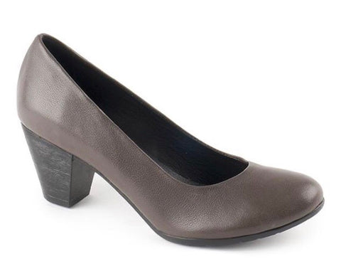 Bueno Perfect Pumps in Dark Grey Leather $129, Our Beautiful Price $99