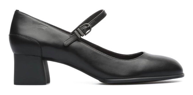 Camper Katie Maryjane Style in Black Leather, Our Beautiful Price $169
