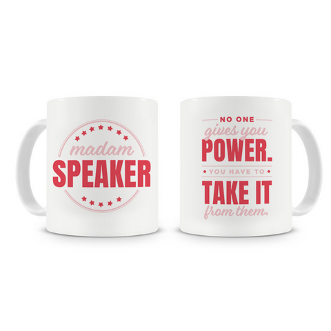 Nancy Pelosi 'Madam Speaker' Mug