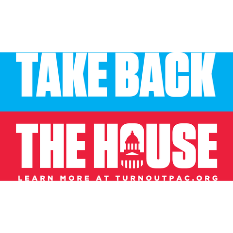 Take Back the House Sticker (3 pack)
