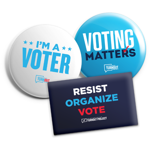 Voting Matters Button Set