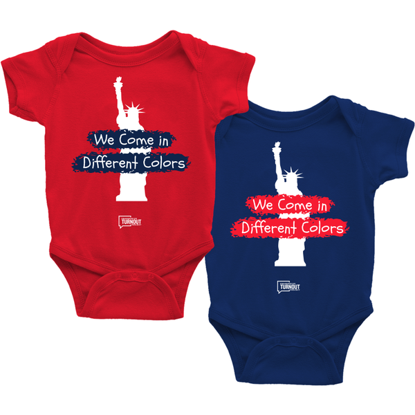 We Come in Different Colors Onesie