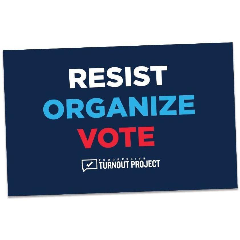 Resist Organize Vote Sticker (3 pack)