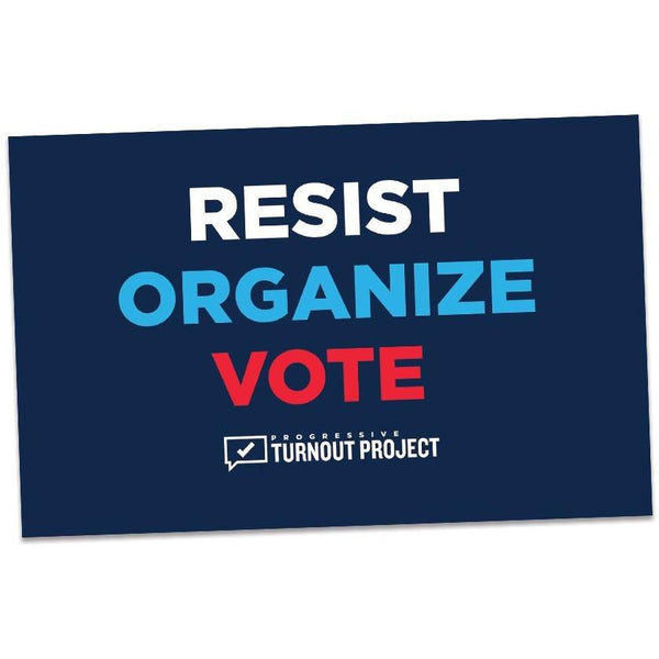 Resist Organize Vote Magnet