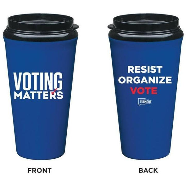 Voting Matters Travel Tumbler