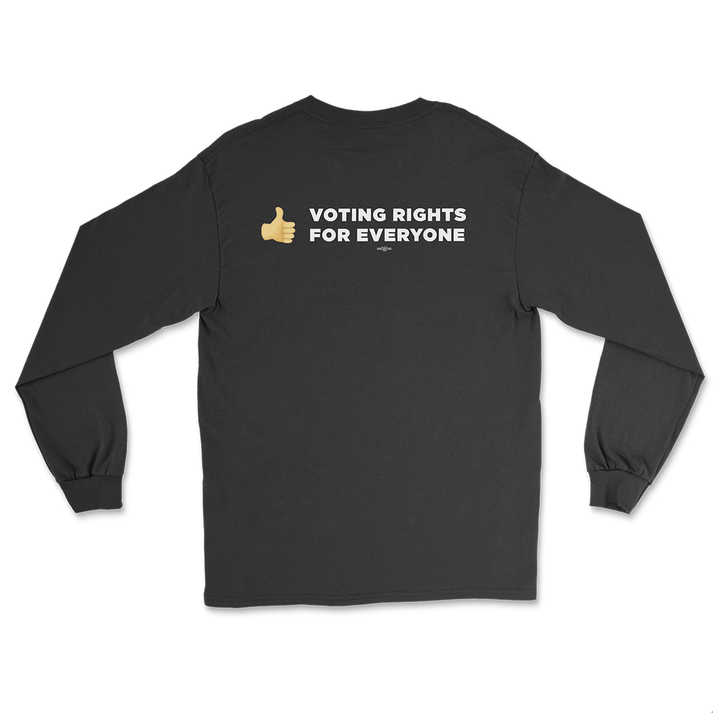 Thumbs Up Voting Rights Long Sleeve T-Shirt