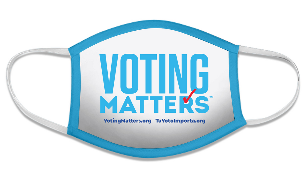 Voting Matters Mask