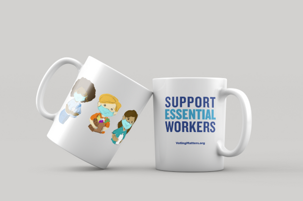 Support Essential Workers Mug