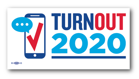 Turnout2020 Sticker
