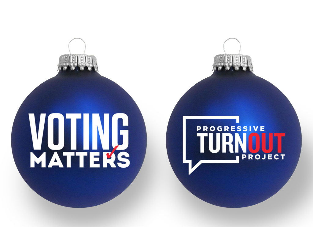 Voting Matters Ornament