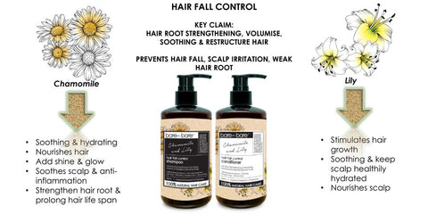 Bare for Bare Hair Fall Control Conditioner- Chamomile and Lily