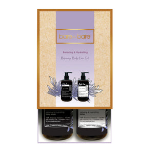 Bare for Bare Relaxing & Hydrating Rosemary Body Care Set