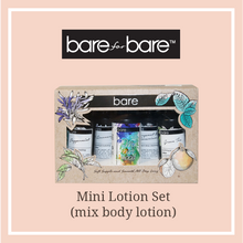 Bare for Bare Mix & Match My Bare Mood Body Lotion Miniature Set (4 x 60ml)