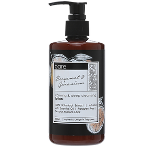 Bare for Bare Bergamot & Geranium Body Lotion