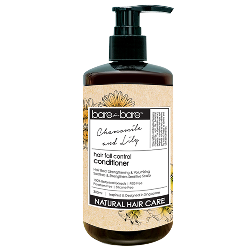 Bare for Bare Hair Fall Control Conditioner- Chamomile and Lily 300ml