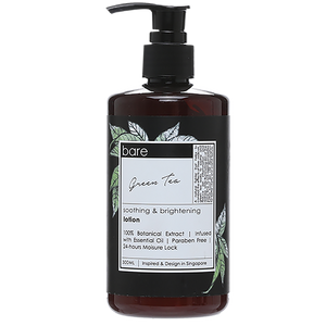 Bare for Bare Green Tea Body Lotion