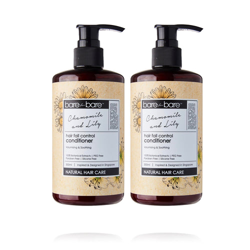 Earth Day Special: (BUY 1 GET 1 FREE) Bare for Bare Hair Fall Control Conditioner- Chamomile and Lily 300ml