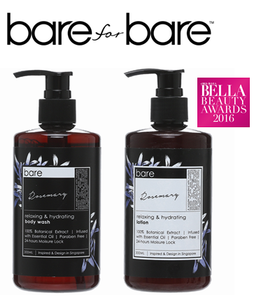 Bare for Bare Rosemary Body Care Set
