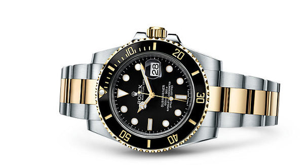 Rolex Submariner Date Steel and Yellow Gold Black Cerachrom