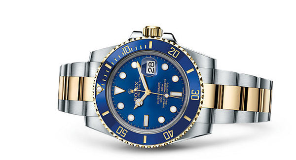 Rolex Submariner Date Steel and Yellow Gold Blue Cerachrom