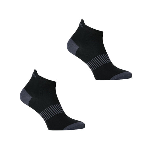 Salming Running Performance Ankle Sock 2 Pack Black