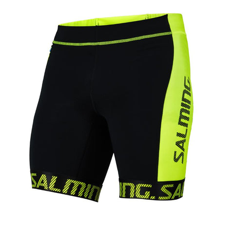 Salming Triathlon Shorts Men Black/Yellow