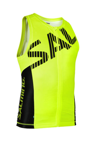 Salming Triathlon Singlet Men Yellow/Black