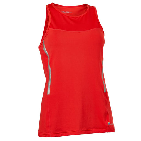 Salming Laser Tank Women Poppy Red
