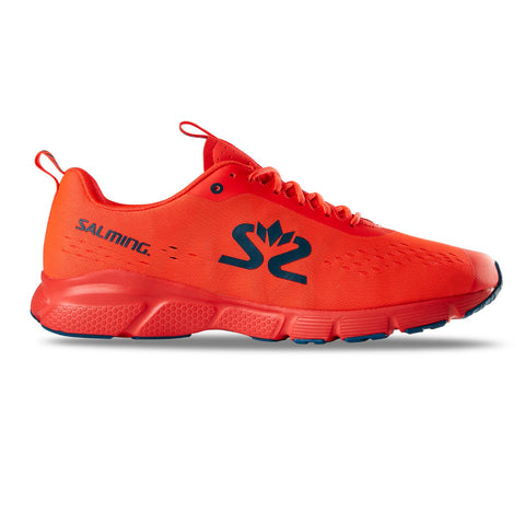 Salming Enroute 3 Running Shoe Men New Orange/Moroccan Blue