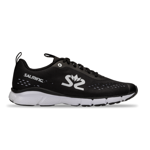 New! Salming Enroute 3 Running Shoe Women Black / White