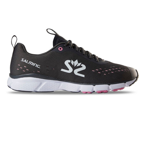 Salming Enroute 3 Running Shoe Women Forged Iron/White/Very Berry