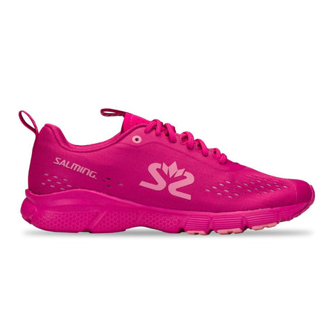 New! Salming Enroute 3 Running Shoe Women Very Berry/Pink
