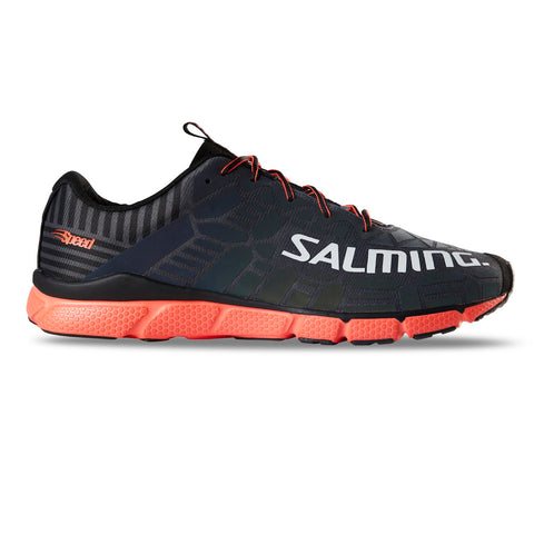 Salming Speed 8 Running Shoe Men Forged Iron / New Orange